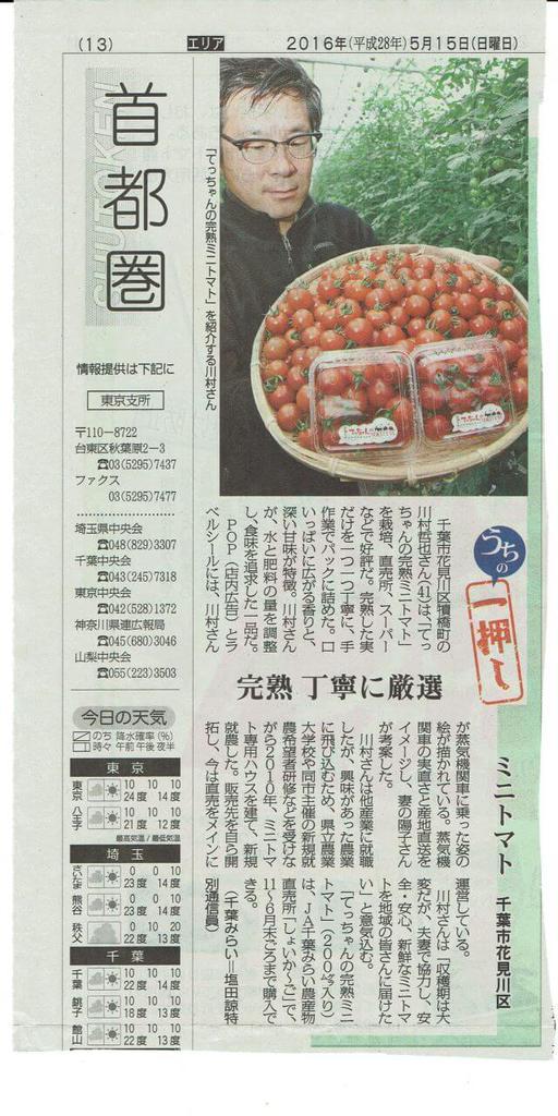 てっちゃんのトマト
